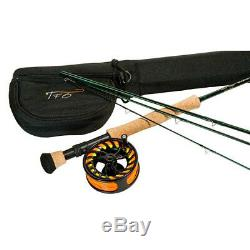Tfo Temple Fork Outfitters Tfo Nxt 9' Ft #8/9 Weight 4 Pc Fly Rod & Reel Combo
