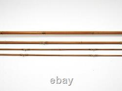 Vintage EC Powell Bamboo Fly Rod. 9' 3/2. With Tube and Sock