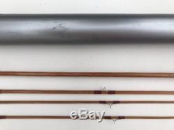 Vintage ORVIS Impregnated Bamboo Fly Fishing Rod Seven Four 2 3/4 Oz HFG 82365