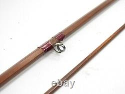 Vintage Orvis Bamboo Fly Rod. 8' 6. 2/1. With Tube and Sock
