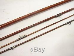 Vintage South Bend #323 9' Bamboo Fly Fishing Rod Fish
