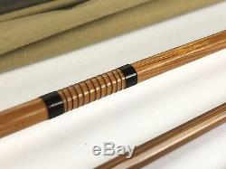 Vintage Thomas Special Bamboo Fly Fishing Rod 7.5 3 7/8oz GF-4