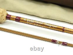 Walton Powell Hexagraph Fly Fishing Rod. 7' 4-6wt. With Tube and Sock