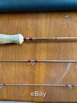 Walton Powell Hexagraph Fly Rod 7'6, 3 section, #4/5