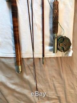 Winchester Antique Bamboo Fly Rod Fishing Pole With