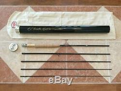 Winston B3X BIIIX 904 490 9ft 4wt 5pc fly fishing rod withtube (for 4wt line reel)