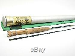 Winston Pre-IM6 Fly Fishing Rod. 8' 5wt. Shortened Tip. With Tube and Sock