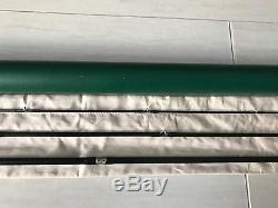 Winston WT Fly Fishing Rod. 9' 6wt 3 piece. With Tube and Sock